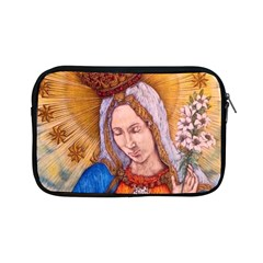 Immaculate Heart Of Virgin Mary Drawing Apple Ipad Mini Zipper Cases by KentChua