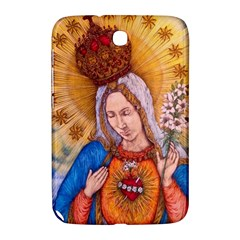 Immaculate Heart Of Virgin Mary Drawing Samsung Galaxy Note 8 0 N5100 Hardshell Case  by KentChua