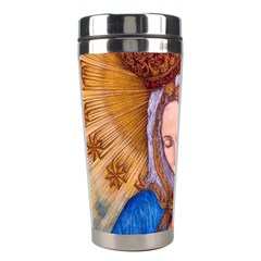 Immaculate Heart Of Virgin Mary Drawing Stainless Steel Travel Tumblers by KentChua
