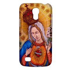 Immaculate Heart Of Virgin Mary Drawing Galaxy S4 Mini by KentChua