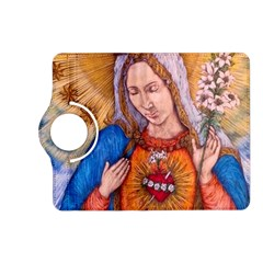 Immaculate Heart Of Virgin Mary Drawing Kindle Fire Hd (2013) Flip 360 Case by KentChua