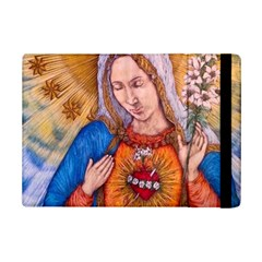 Immaculate Heart Of Virgin Mary Drawing Ipad Mini 2 Flip Cases by KentChua