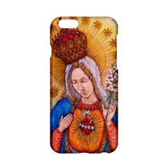 Immaculate Heart Of Virgin Mary Drawing Apple Iphone 6/6s Hardshell Case by KentChua