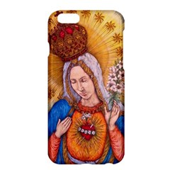 Immaculate Heart Of Virgin Mary Drawing Apple Iphone 6 Plus/6s Plus Hardshell Case by KentChua
