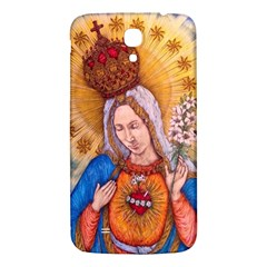 Immaculate Heart Of Virgin Mary Drawing Samsung Galaxy Mega I9200 Hardshell Back Case by KentChua