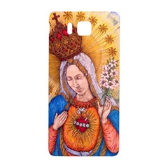 Immaculate Heart Of Virgin Mary Drawing Samsung Galaxy Alpha Hardshell Back Case by KentChua