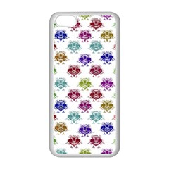 Fantasy Angry Birds Drawings Pattern Apple Iphone 5c Seamless Case (white) by dflcprints