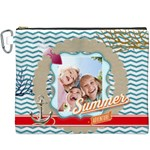 summer kids - Canvas Cosmetic Bag (XXXL)