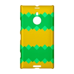 Green rhombus chains 			Nokia Lumia 1520 Hardshell Case by LalyLauraFLM