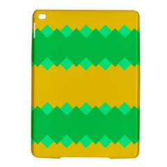 Green rhombus chains 			Apple iPad Air 2 Hardshell Case by LalyLauraFLM