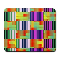 Vertical and horizontal stripes 			Large Mousepad by LalyLauraFLM