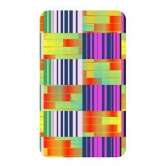 Vertical And Horizontal Stripes 			memory Card Reader (rectangular) by LalyLauraFLM