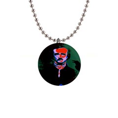 Edgar Allan Poe Pop Art  Button Necklaces by icarusismartdesigns