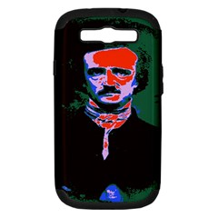 Edgar Allan Poe Pop Art  Samsung Galaxy S Iii Hardshell Case (pc+silicone) by icarusismartdesigns