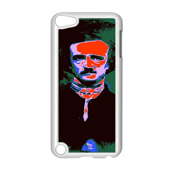 Edgar Allan Poe Pop Art  Apple iPod Touch 5 Case (White)