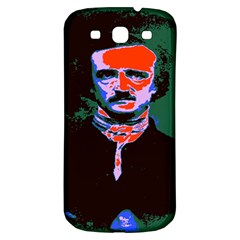 Edgar Allan Poe Pop Art  Samsung Galaxy S3 S Iii Classic Hardshell Back Case by icarusismartdesigns