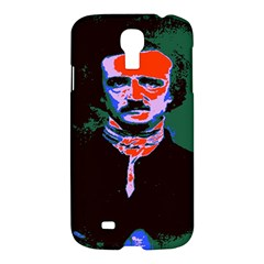 Edgar Allan Poe Pop Art  Samsung Galaxy S4 I9500/i9505 Hardshell Case by icarusismartdesigns