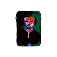 Edgar Allan Poe Pop Art  Apple Ipad Mini Protective Soft Cases by icarusismartdesigns