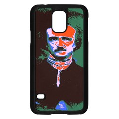 Edgar Allan Poe Pop Art  Samsung Galaxy S5 Case (black) by icarusismartdesigns