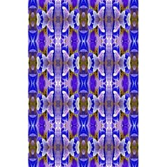 Blue White Abstract Flower Pattern 5 5  X 8 5  Notebooks by Costasonlineshop