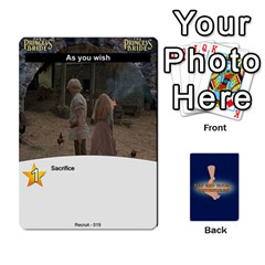 Princess Bride Deck 1 By Felbrigg Herriot   Playing Cards 54 Designs   5rwtrbwhhm3b   Www Artscow Com Front - Heart7