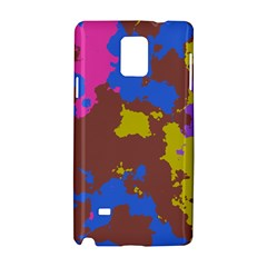 Retro Texture			samsung Galaxy Note 4 Hardshell Case by LalyLauraFLM