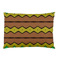 Rhombus And Waves 			pillow Case by LalyLauraFLM
