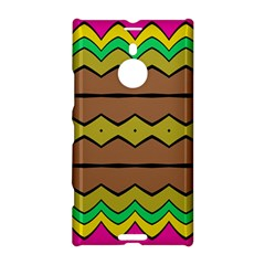 Rhombus And Waves 			nokia Lumia 1520 Hardshell Case by LalyLauraFLM
