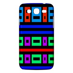 Rectangles And Stripes 			samsung Galaxy Mega 5 8 I9152 Hardshell Case by LalyLauraFLM