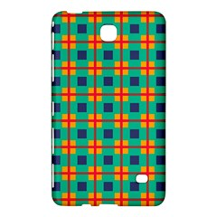 Squares In Retro Colors Pattern 			samsung Galaxy Tab 4 (8 ) Hardshell Case by LalyLauraFLM