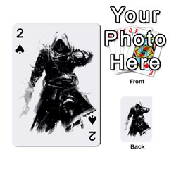 Assassins Creed Black Flag Playing Cards 54 Designs  by iankingart
