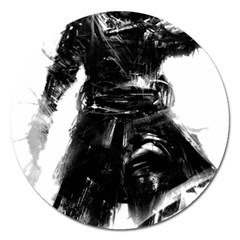 Assassins Creed Black Flag Tshirt Magnet 5  (round) by iankingart