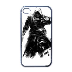 Assassins Creed Black Flag Tshirt Apple Iphone 4 Case (black) by iankingart