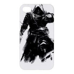 Assassins Creed Black Flag Tshirt Apple Iphone 4/4s Premium Hardshell Case by iankingart