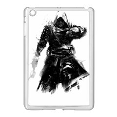 Assassins Creed Black Flag Tshirt Apple Ipad Mini Case (white) by iankingart