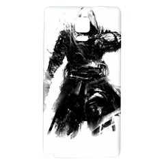 Assassins Creed Black Flag Tshirt Galaxy Note 4 Back Case by iankingart