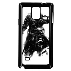 Assassins Creed Black Flag Tshirt Samsung Galaxy Note 4 Case (black)