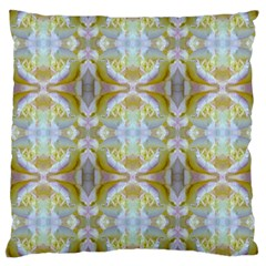 Beautiful White Yellow Rose Pattern Large Cushion Cases (two Sides)