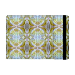 Beautiful White Yellow Rose Pattern Apple Ipad Mini Flip Case by Costasonlineshop
