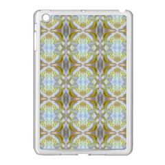 Beautiful White Yellow Rose Pattern Apple Ipad Mini Case (white) by Costasonlineshop