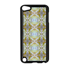 Beautiful White Yellow Rose Pattern Apple Ipod Touch 5 Case (black) by Costasonlineshop