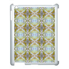 Beautiful White Yellow Rose Pattern Apple Ipad 3/4 Case (white) by Costasonlineshop
