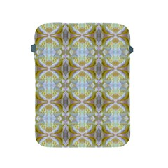 Beautiful White Yellow Rose Pattern Apple Ipad 2/3/4 Protective Soft Cases