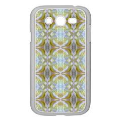 Beautiful White Yellow Rose Pattern Samsung Galaxy Grand Duos I9082 Case (white) by Costasonlineshop