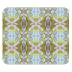 Beautiful White Yellow Rose Pattern Double Sided Flano Blanket (small)  by Costasonlineshop