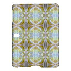 Beautiful White Yellow Rose Pattern Samsung Galaxy Tab S (10 5 ) Hardshell Case