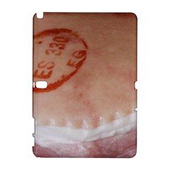 Pork Skin Samsung Galaxy Note 10.1 (P600) Hardshell Case by RakeClag