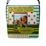 kids - Flap Closure Messenger Bag (L)