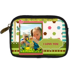 Kids By Kids   Digital Camera Leather Case   8358y5lh0yvc   Www Artscow Com Front