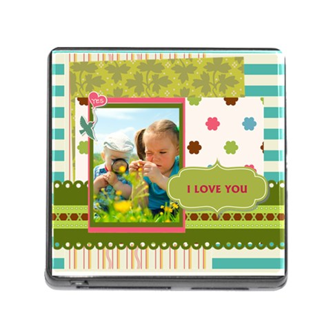 Kids By Kids   Memory Card Reader (square)   Wfwbxv9nu541   Www Artscow Com Front